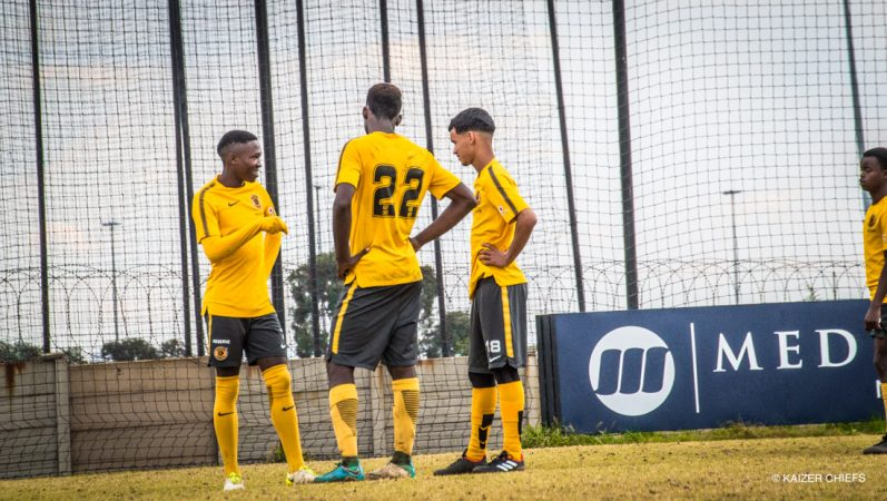Kaizer Chiefs U-19s in action on Saturday - Kaizer Chiefs