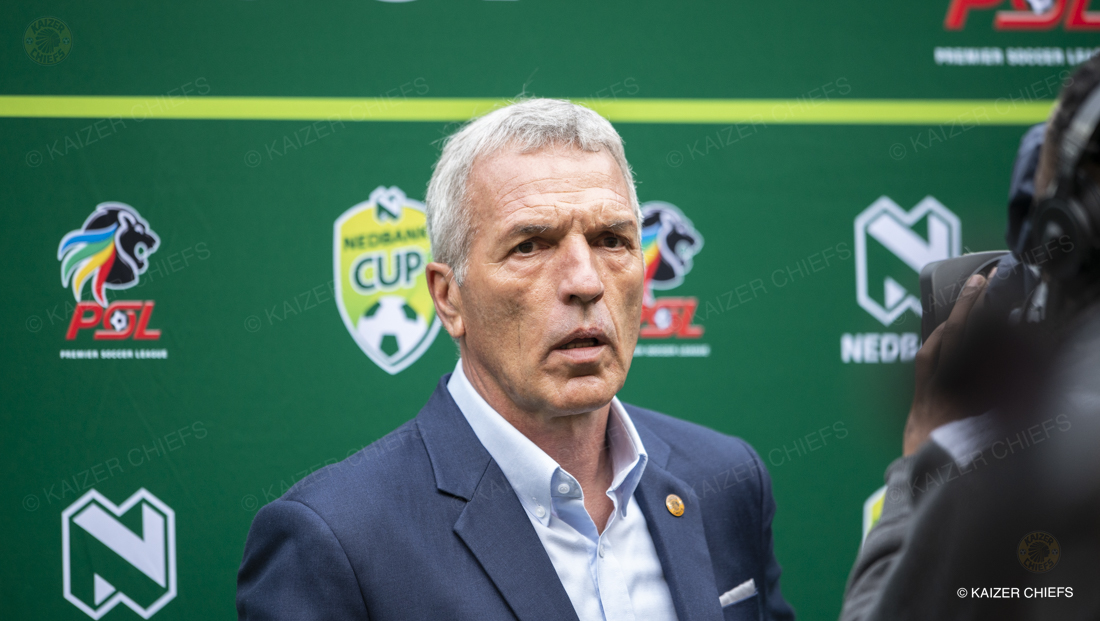 We are progressing - Middendorp - Kaizer Chiefs