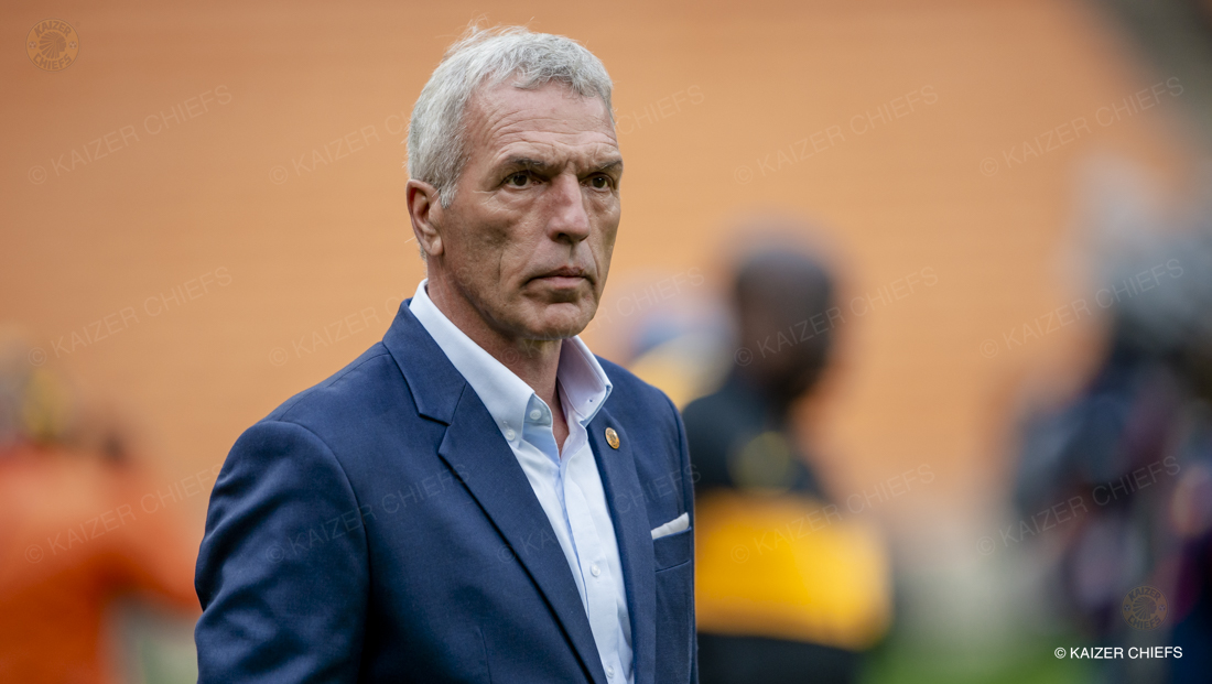 We created chances – Middendorp - Kaizer Chiefs