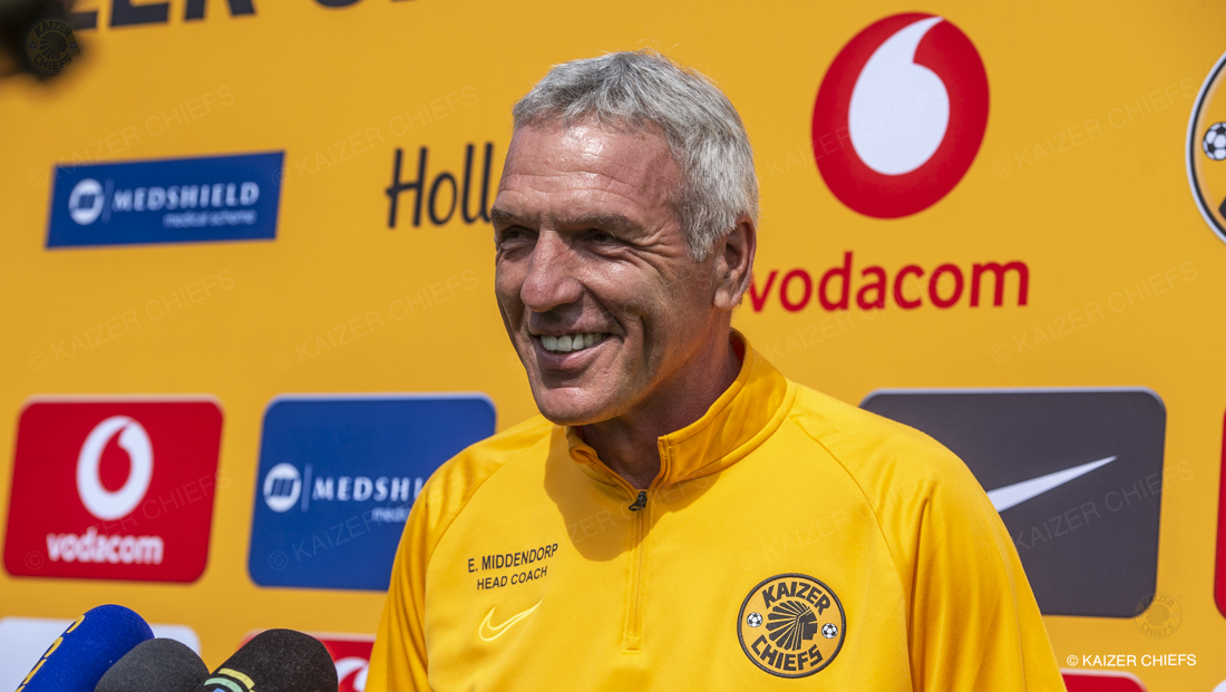 Together on course � Middendorp - Kaizer Chiefs