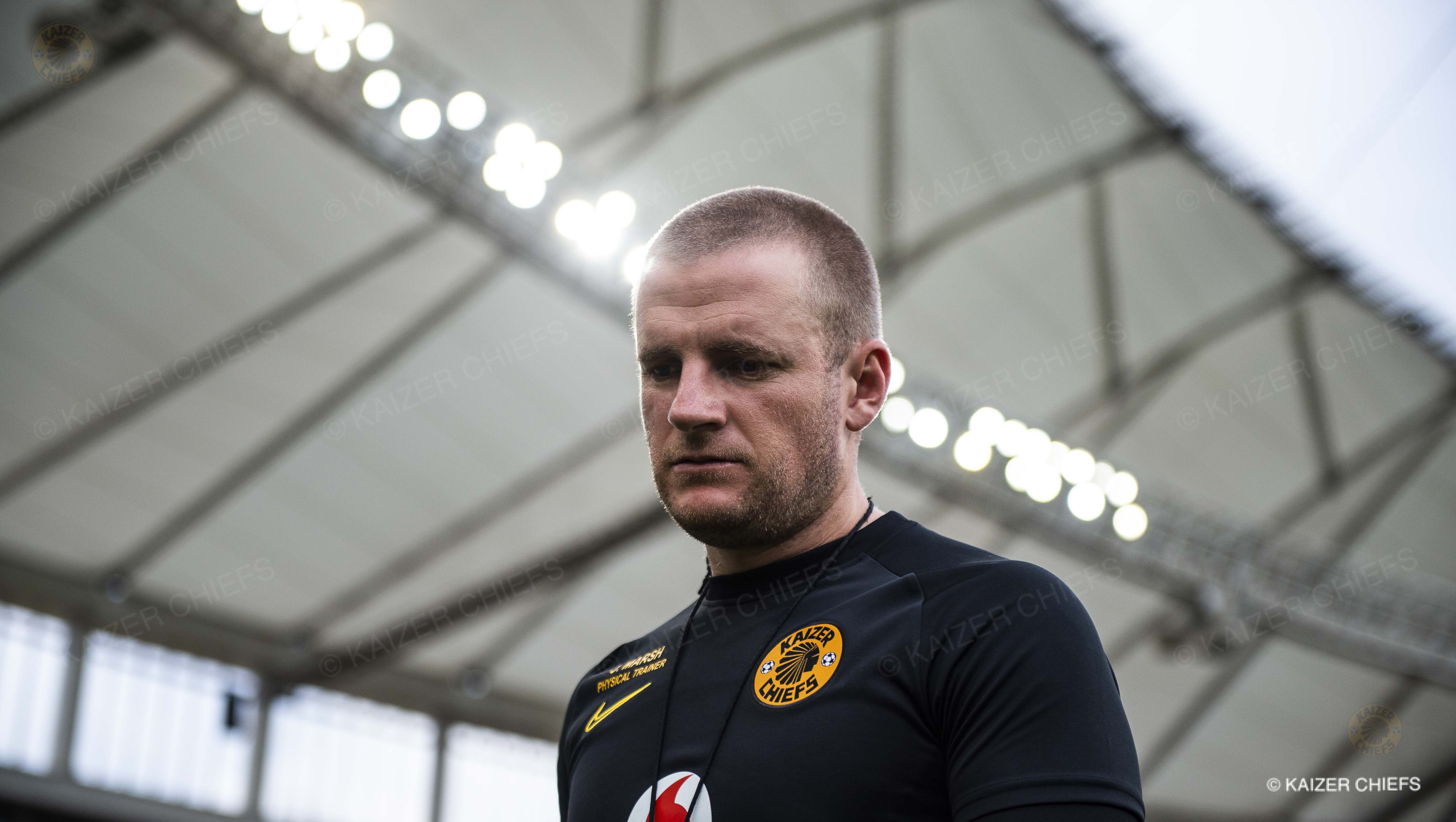 Healthy routine is key for Chiefs' Marsh - Kaizer Chiefs