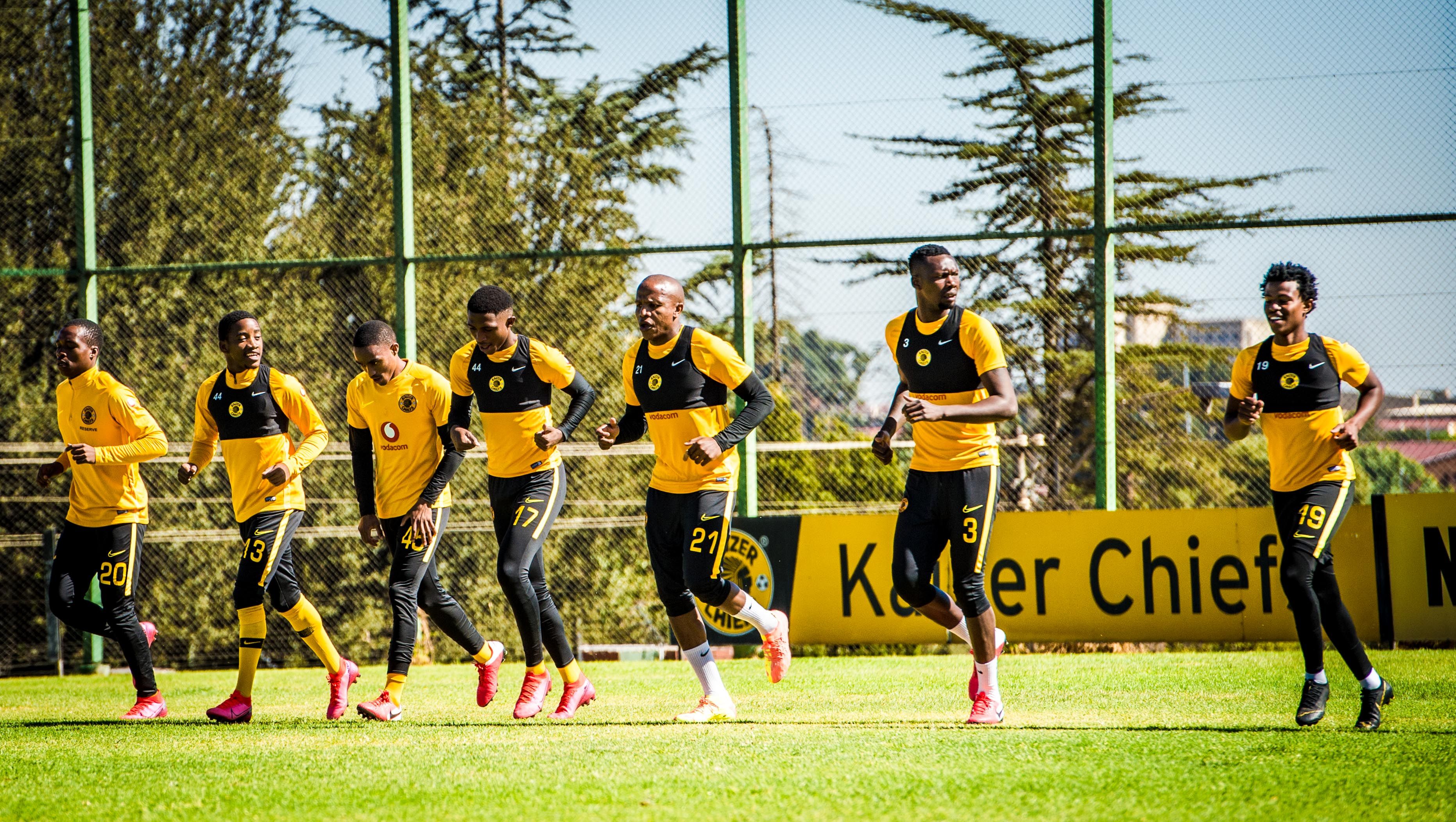 Chiefs Travelling Party to Cameroon - Kaizer Chiefs